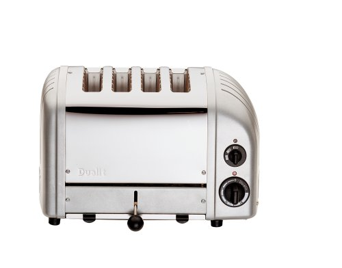 Dualit Combi 2+2 Toaster 42171 – Metallic Silver