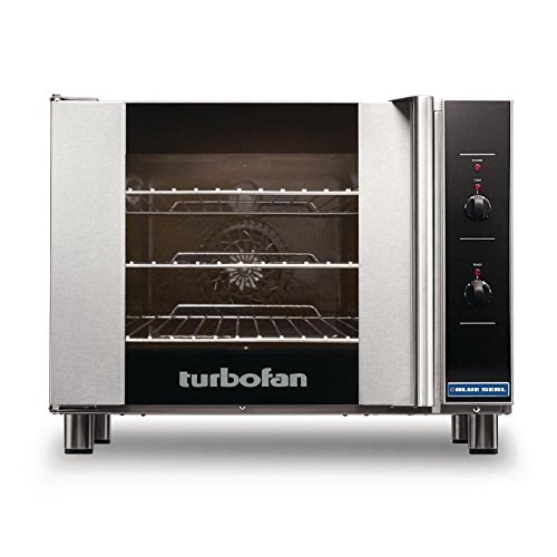 Commercial Kitchen 2300W Turbofan Compact Convection Oven Restaurant Pub Cafe