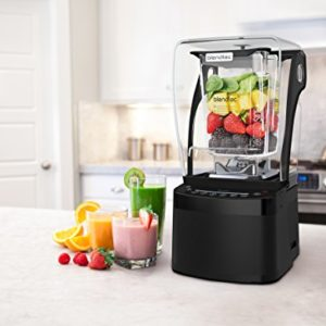 Blendtec Professional 800 Blender with Sound Enclosure and Wildside+ Jar - Black