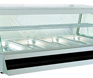 North Pro Countertop Heated Foot Display Commercial Hot Buffet Cabinet