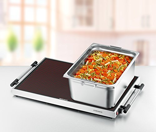 Rommelsbacher Warming Tray, Electric Portable Table Food Warmer